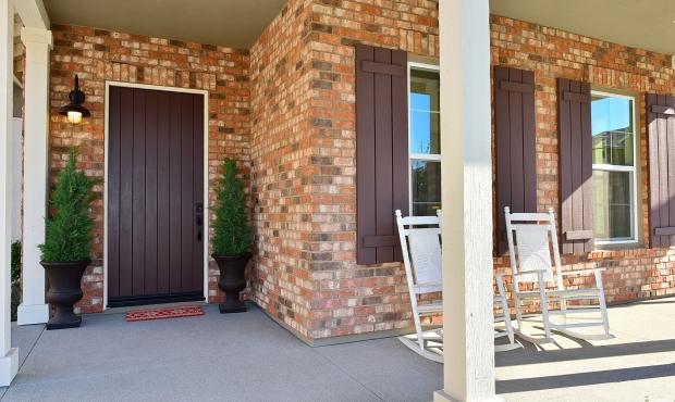 Front Porch Front Door