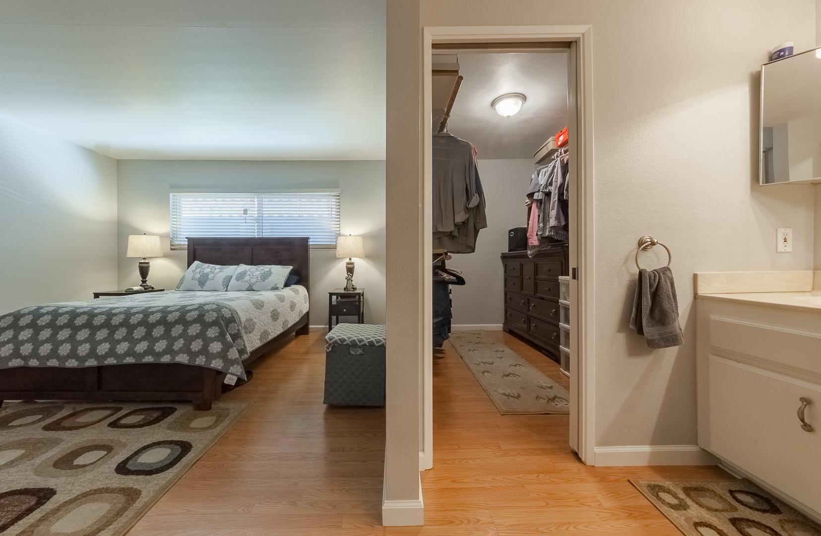 7 - Bedroom and closet