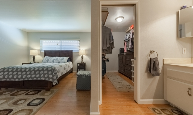 7 - Bedroom and closet