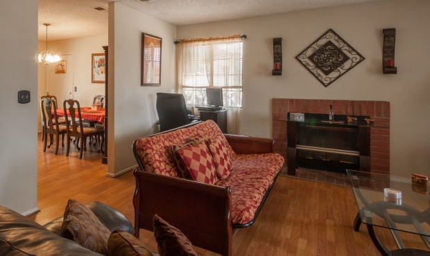 3-Living-dining-fireplace