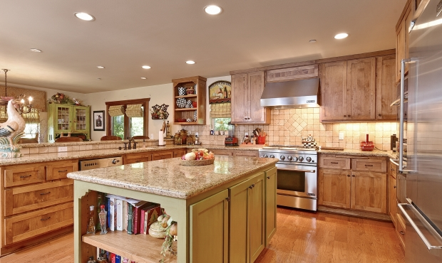 11Kitchen with Granite Island
