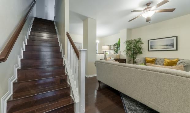 9 - hardwood staircase