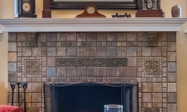 3 - Batchelder Fireplace