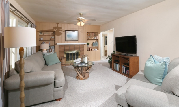 10 Family Room with Fireplace