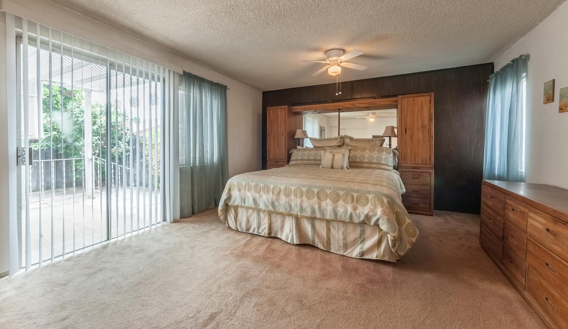 12-Bedroom with patio doors