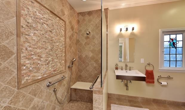 Huge modern bath