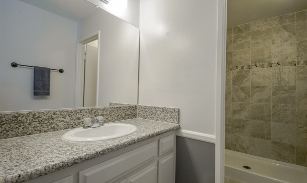 7-bath granite closeup