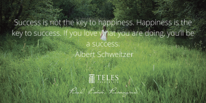 Success is the not the Key to Happiness